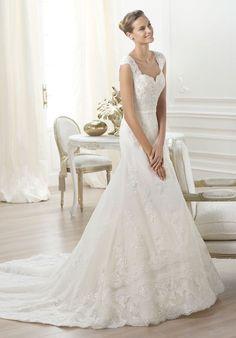 PRONOVIAS Lencie Wedding Dress - The Knot