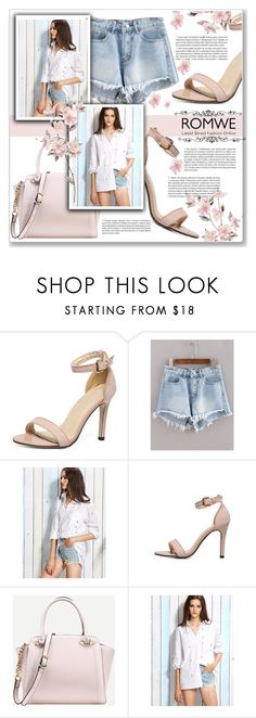 """ROMWE 7/10"" by azra10 ❤ liked on Polyvore featuring White Ice"