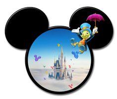 Disney Day, Disney Love, Disney Magic, Disney Pixar, Mickey Y Minnie, Mickey Ears, Autograph Book Disney, Disney Printables, Disney Scrapbook