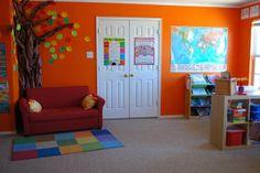 Ten Homeschool Room Setups  #Spectrumlearn #homeschool