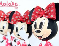 New Work, Sculpting, Minnie Mouse, Behance, Christmas Ornaments, Holiday Decor, Disney Characters, Gallery, Check