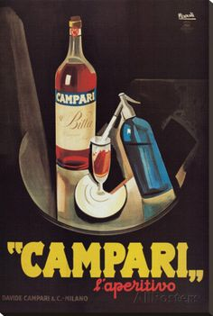 My sister had lived in Rome for a year. When I visited her, she and her friends introduced me to Campari. I will always associate Campari with Rome.