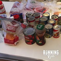 Hurricane Matthew Meal Preparations | The Running Lists | Food