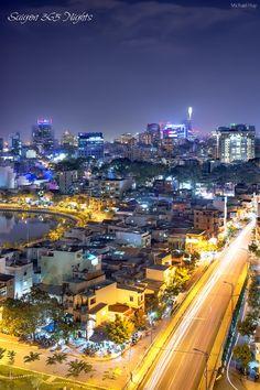 Night in Saigon - Vietnam