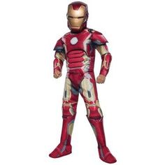 Tony Stark, billionaire and philanthropist, created the Iron Man armor as a way to combat the growing threats on earth. Now your little one can help bring peace by suiting up in this Mark 43 armor. Encourage your child to assemble his friends and save the earth as Avengers superheroes like Thor, the Hulk, Captain America and Black Widow.