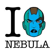 Check out this awesome 'I+Love+Nebula+Guardians+of+the+Galaxy' design on @TeePublic!