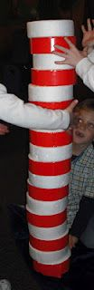Cat in the Hat stacking game, plus other Dr. Seuss ideas