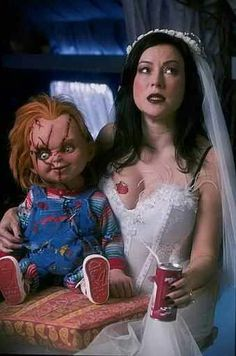 Bride Of Chucky....But I'd say this more funny than anything
