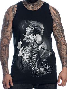 "Men's ""Resurrection"" Tank by Sullen Clothing (Black) #InkedShop #Menswear #mens…"