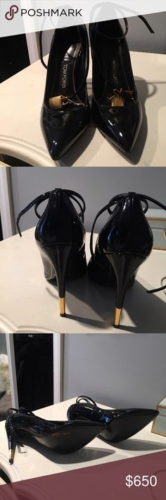 Tom Ford Ankle Lock Heels Tom Ford Ankle Lock Heels. Purchased from Neiman Marcus Westchester. Tom Ford Shoes Heels