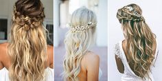 15 Chic Half Up Half Down Wedding Hairstyles for Long Hair - EmmaLovesWeddings