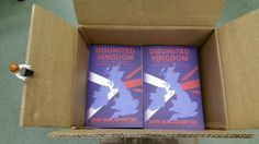 Unpacking some fresh new copies of Disunited Kingdom!