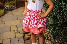 OH MY!!! Super adorable FREE pdf sewing pattern from Create Kids Couture. Reese's Reversible Paper Bag skirt is cute, cute, cute, fast, and easy! Sizes 3/6 months- 8 plus doll sizes!!