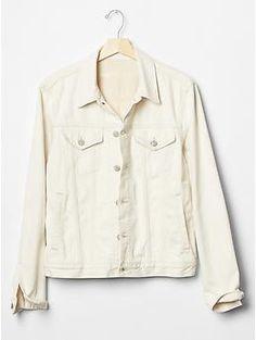 1969 heritage denim jacket (natural wash)   Gap