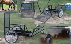 wheelchair mini pony carts for therapy