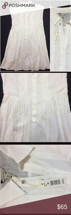 NWT $138 Max Studio white Dress size M Size Medium Max Studio Dresses