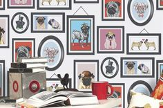 Dogs Only Club | Tapeten der 70er
