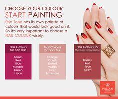Confused in choosing Nail Colour? Visit Our Site : www. Dark Colors, Colours, Nail Colour, Milan Design, Kanchipuram Saree, Lehenga Saree, Kochi, Saree Wedding, Confused