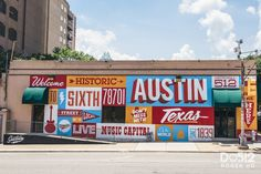 """Austin is a landscape peppered with art, sometimes in the most unexpected places. From the now iconic """"Hi, How Are You"""" mural created by outsider artist Daniel Johnston to the """"I …"""