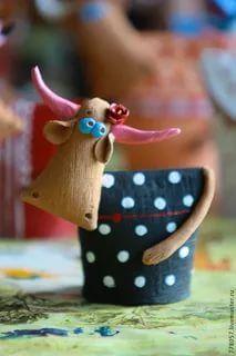 Clay Projects, Clay Crafts, Felt Crafts, Fabric Crafts, Diy And Crafts, Sewing Projects, Pottery Animals, Ceramic Animals, Clay Animals