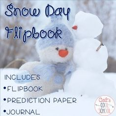 "FREE!!!   This snow day flipbook freebie is fun and engaging! Have students write some of their favorite ways to ""make"" it snow, make predictions for upcoming snowstorms, and write a journal entry about their most perfect snow day. Enjoy!Related ProductsSnowflake Bentley LapbookNarnia: The Lion, the Witch, and the Wardrobe Read Aloud ActivitiesCustomer Tips: How to get TPT credit to use on future purchases:       Please go to your My Purchases page (you may need to login)."