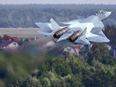 Sukhoi T-50 jet