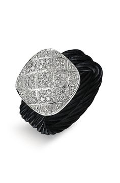 Charriol 'Celtic Noir' Pavé Diamond Ring by nordstrom