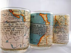 Lovely Fever: Decoupage Candle Holder Mania - maps