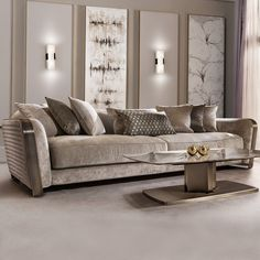 Bring Out Your Luxurious Phase By Installing Luxury Sofas High End Sofa Sets Design In Living Room Sofas From Furniture On - Web 2020 Best Site Sofa Bed Design, Living Room Sofa Design, Living Room Designs, Living Rooms, Apartment Living, Luxury Sofa, Luxury Living, Sofa Furniture, Luxury Furniture