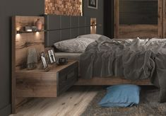 A luxury bed with storage underneath, bedside cabinets, LED lighting and padded headboard. Matching wardrobe and sideboard available. Modern Luxury Bedroom, Modern Bedroom Furniture, Luxurious Bedrooms, Bedroom Decor, Furniture Decor, King Size Storage Bed, King Size Bed Frame, Under Bed Storage, Luxury Bed Frames