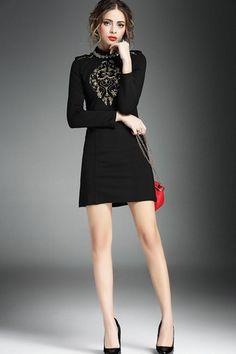 1 sleeve black dress belts