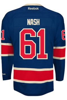 f3b0515f9 New York Rangers Rick NASH  61 Official Third Reebok Premier Replica Adult  NHL H CoolHockey