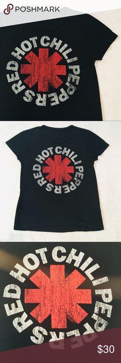b3849ed6b Bravado | Distressed Red Hot Chili Peppers Tee—M Red Hot Chili Peppers band  tee