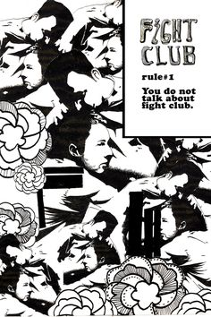 FIGHT CLUB and then some by Juan YiJun, via Behance