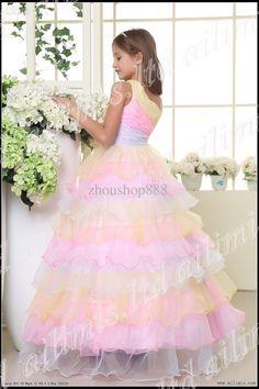 Pink Wedding Dress for Kids - Women's Dresses for Weddings Check more at http://svesty.com/pink-wedding-dress-for-kids/