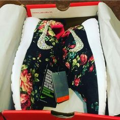 Custom floral nike roshe runs PLEASE READ ME!! -OPTIONAL BLINGED OUT CHECKMARK. SEE PICS TO SEE HOW THEY LOOK ALL FINISHED. -Right now the shoe is plain and can be sold like that unless you tell me otherwise!! -size 6.5 in women -rhinestones only take 4 hours to apply -ships next day always -read my feedback -i love offers as well!! -sorry but no trades :( Happy poshing! Nike Shoes Athletic Shoes