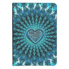 Celtic Heart Fractal Mandala Kindle Case Kindle Touch Cover   #Celtic #fractal #Kindle