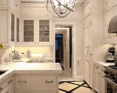 Countertop, white tile  Ceasarstone Misty Design, Pictures, Remodel, Decor and Ideas