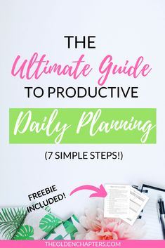 The ultimate daily planning template to spice up your morning routines and increase your time management and productivity throughout the day. Includes great tips and examples to incorporate into your own planning or bullet journal system. Great to incorporate into your daily or weekly planner and perfect for students or for work planning. Includes a free printable. Pin now and read about how you can change your daily planning routine today! #dailyplanning #planning #planner College Checklist, College Hacks, College Fun, College Life, College Dorms, College Planning, College Students, Goal Planning, Daily Planning