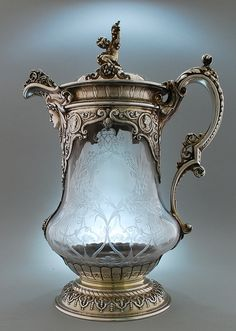 The Pocahontas Claret Jug by John Figg - London 1872