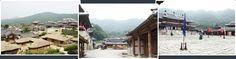 Yongin MBC Dramia es el set de filmación donde los dramas históricos de Corea como Jumong, Queen Seondeok y Dong Yi fueron filmadas. La instalación cuenta con edificios de la época de los Tres Reinos (la era de Goguryeo, Baekje y Silla Reinos, entre los siglos cuarto y la mitad de séptima) de la Dinastía Joseon (1392-1910). En la luna que abraza el sol, escenas reales del palacio eran en su mayoría filmadas aquí.