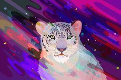 揮灑顏色的野生動物們 | MyDesy 淘靈感