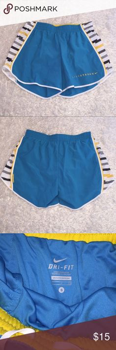 Nike Livestrong Shorts Size S, excellent condition. Drawstring and liner included. Perfect Jogging Shorts! Feel free to ask any questions! Nike Shorts