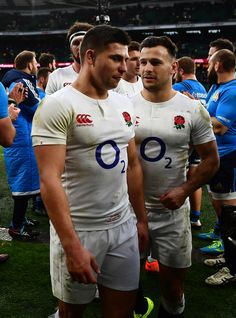 Ben Youngs and Danny Care