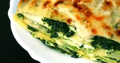 Plenty of spinach and lovely, light ricotta for that creamy finish!