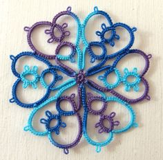 Go have a look at the pretty tatting on Kathy 's blog,  Look for the February 14th post in the middle of the page.  I have been looking for...