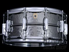 Ludwig 14 x 6.5 Hammered Black Beauty Supraphonic Snare Drum (New Badge)