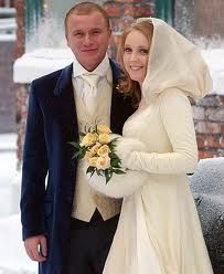 Coronation Street Wedding Ashley And Claire Married Maxine Pea In 1999 Became A
