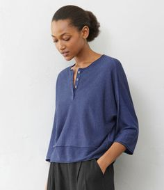 Poetry - Loose linen tunic
