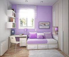 Cool Inspirations for Violet Interior Design | DigsDigs